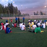 SEATTLE STARS FC AT WILSON PARK PRACTICING