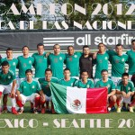 ALL NATIONS CUP 2012 MEXICAN TEAM