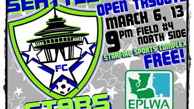 SEATTLE STARS FC TRYOUTS